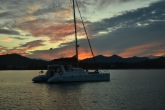 Kolejny piękny zachód słońca.