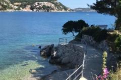 Zatoczka gdzieś na Adriatyku.