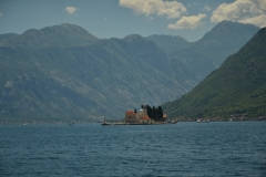 Pocztówka z Zatoki Kotorskiej.