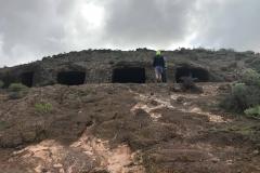 Pomieszczenia u stóp starożytnego sanktuarium