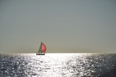 Gdzieś obok nas na morzu....